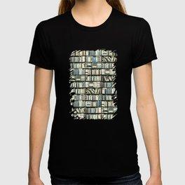 Bookshelf Art Fantasy T-shirt