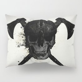 Viking Skull Pillow Sham