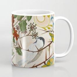 Marsh Tit and Field Mice Coffee Mug