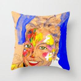 Smile 2 Throw Pillow