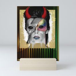 Dead and Famous: Bowie Mini Art Print