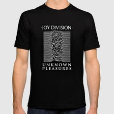 Unknown Pleasures X-LARGE Mens Fitted Tee Black