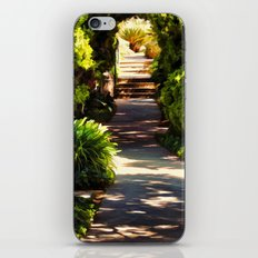 Secluded Path in Autumn iPhone & iPod Skin