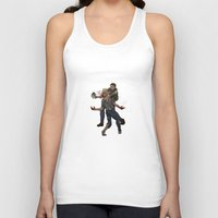 last of us Tank Tops featuring The Last of Us by Luis Lara