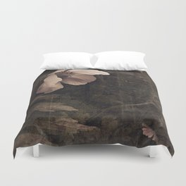 butterfly anemone Duvet Cover