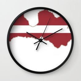 Latvia Riga Latvian gift Baltic Wall Clock