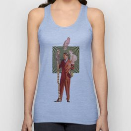Bird Man Unisex Tank Top