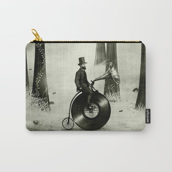 Music Man in the Forest, by Eric Fan and Viviana González Carry-All Pouch