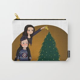 ugly xmas sweater philinda Carry-All Pouch