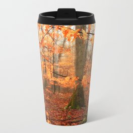Mystic Autumn Forest Travel Mug