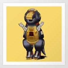 Barneybot Art Print