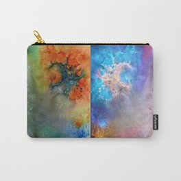 Abstract Rorschach Nebula Carry-All Pouch