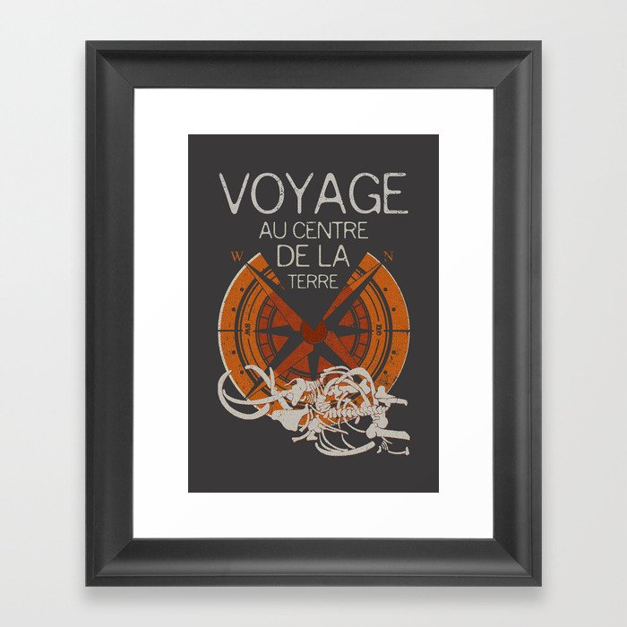 Books Collection: Jules Verne Framed Art Print