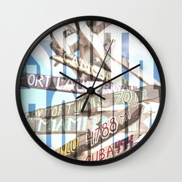 Southernmost Sign Wall Clock