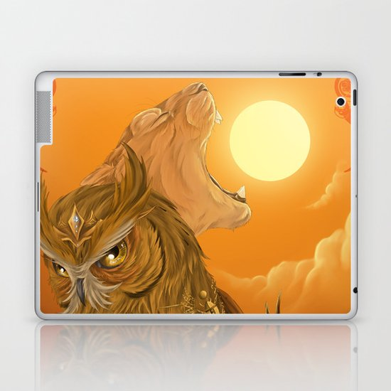 Solar owls -sun  Laptop & iPad Skin