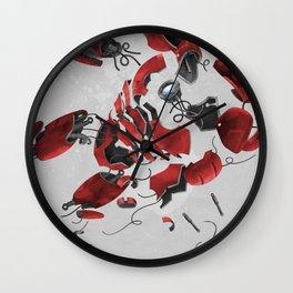 dis MAN tled Wall Clock
