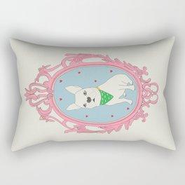 Lovely French Bull dog Frame series Rectangular Pillow