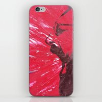 pain iPhone & iPod Skins featuring Pain by C-ARTon