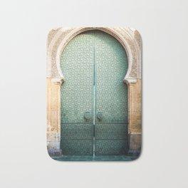 Door of Cathedral Mezquita of Cordoba, Andalucia Bath Mat