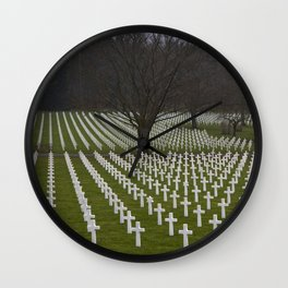 Lorraine American Cemetery and Memorial   St-Avold France Nr. 3 Wall Clock