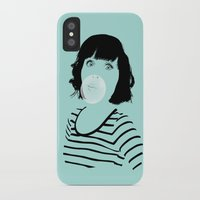 bubblegum iPhone & iPod Cases featuring Bubblegum by FalcaoLucas