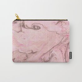 Marbly Pink Carry-All Pouch