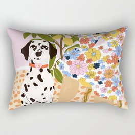 The Chaotic Life Rectangular Pillow