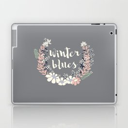 Winter Blues 003 Laptop & iPad Skin