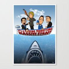 Fish Punch Canvas Print