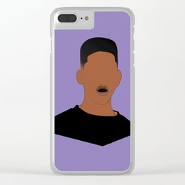 The Fresh Prince Clear iPhone Case