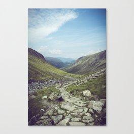Hiking Path Canvas Print
