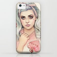 L.O.V.E   E.V.O.L iPhone 5c Slim Case