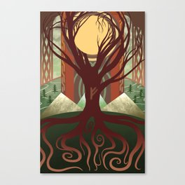 Yggdrasil - Midgard Canvas Print