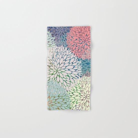 Abstract Floral Petals 3 Hand & Bath Towel