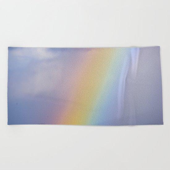 Inside the Rainbow Beach Towel