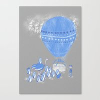 baloon Canvas Prints featuring Baloon rides by Randyotter