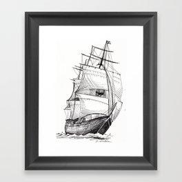 Clipper Ship Framed Art Print