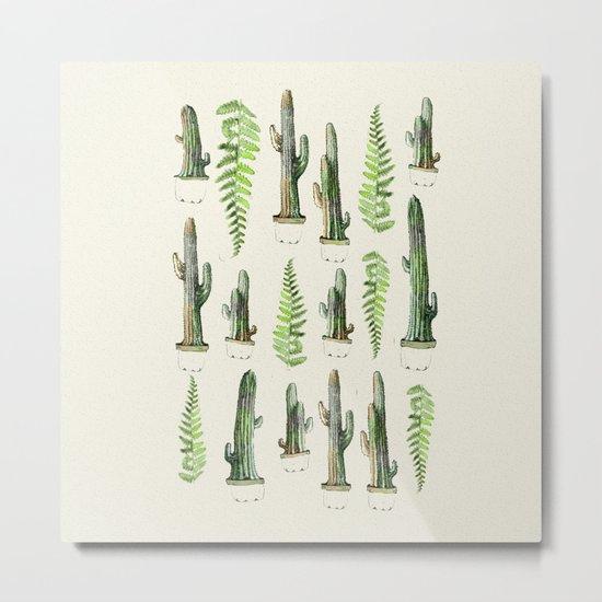 some nature and cactus Metal Print