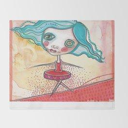 Tiny Dancer Throw Blanket