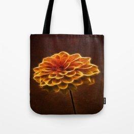 Dahlia Art Tote Bag