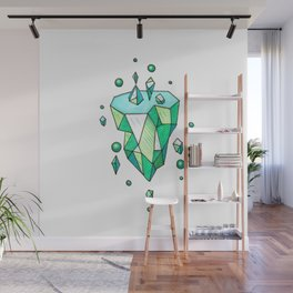 Little Emerald World Wall Mural