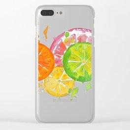 Citrus Burst! Clear iPhone Case