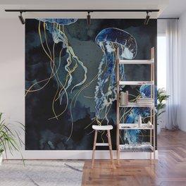 Metallic Ocean III Wall Mural
