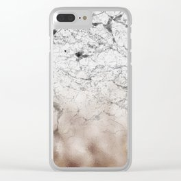 Valhalla marble Clear iPhone Case
