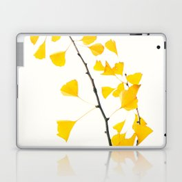 gingko biloba branch Laptop & iPad Skin