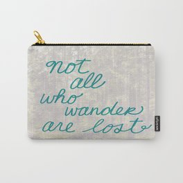 Time to Wander Carry-All Pouch