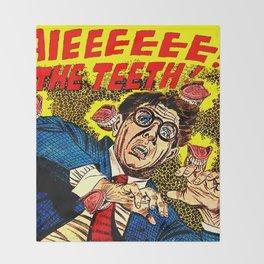 The Teeth! Throw Blanket