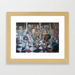 """""""Notrica 32st St Market"""" Framed Art Print"""