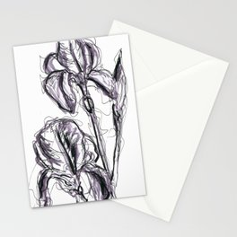 Lili flower in spring II Stationery Cards