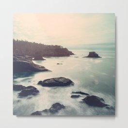 Ocean Motion Metal Print
